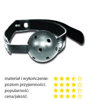 Knebel do ust - S&M Breathable Ball Gag