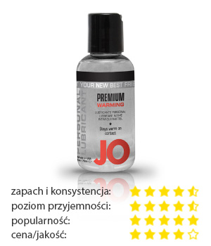 System JO Silicone Lubricant Warming